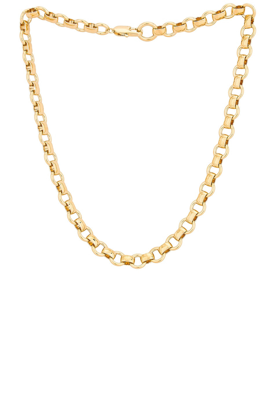 Image 1 of LAURA LOMBARDI Franca Chain Necklace in Gold