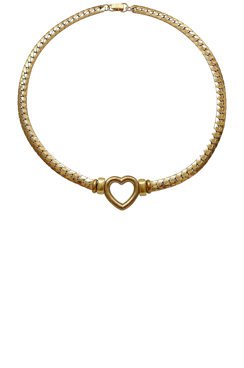 Image 1 of LAURA LOMBARDI Gemma Necklace in Gold