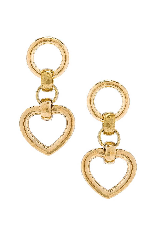Image 1 of LAURA LOMBARDI Tesoro Earrings in Gold