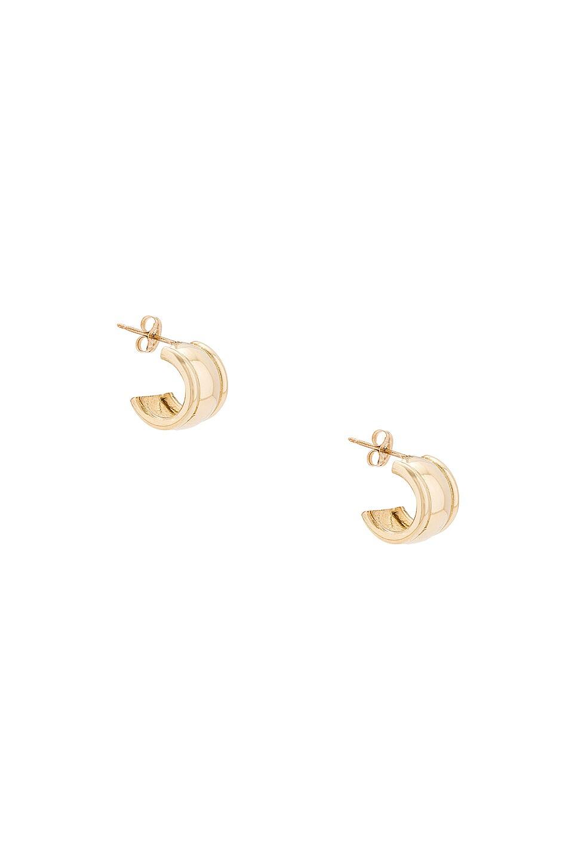 Image 1 of LAURA LOMBARDI Strada Earrings in Gold