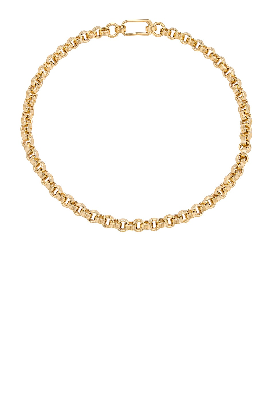 Image 1 of LAURA LOMBARDI Carla Chain Necklace in Gold