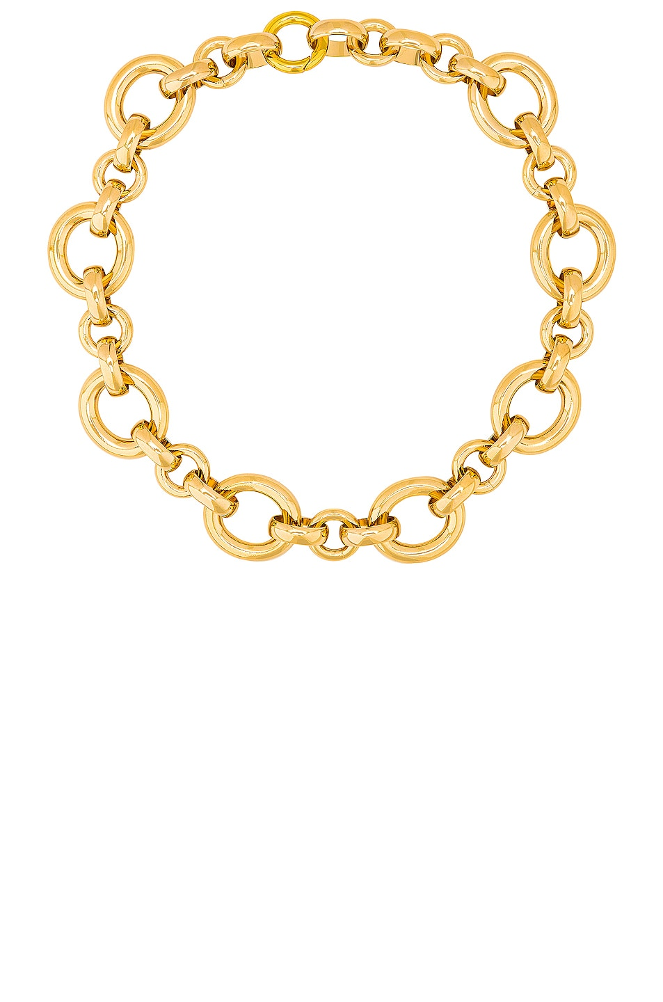 Image 1 of LAURA LOMBARDI Calle Necklace in Gold