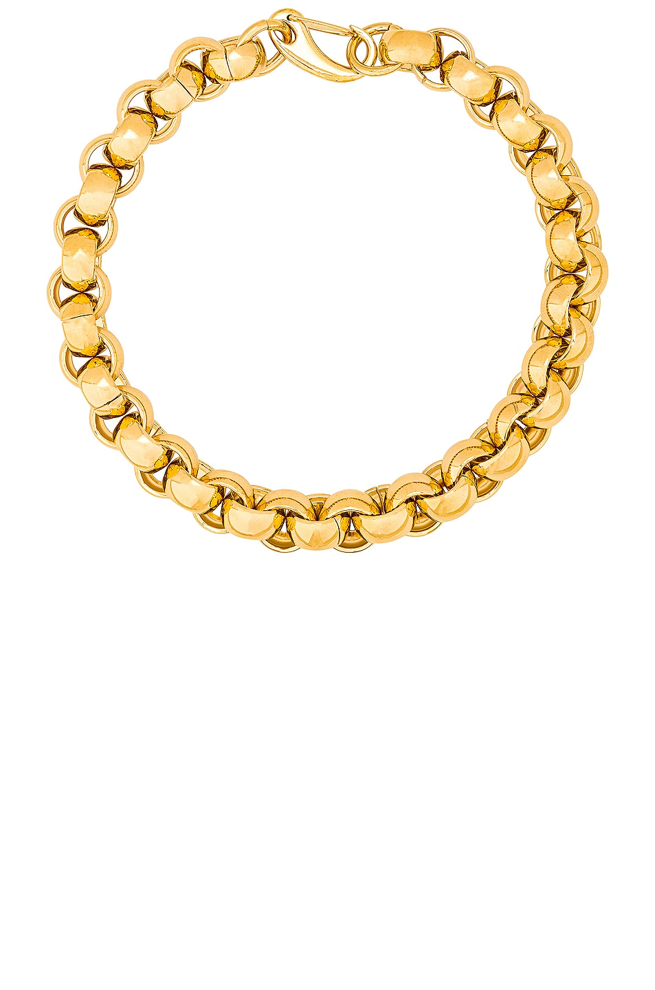 Image 1 of LAURA LOMBARDI Luna Chain Necklace in Gold