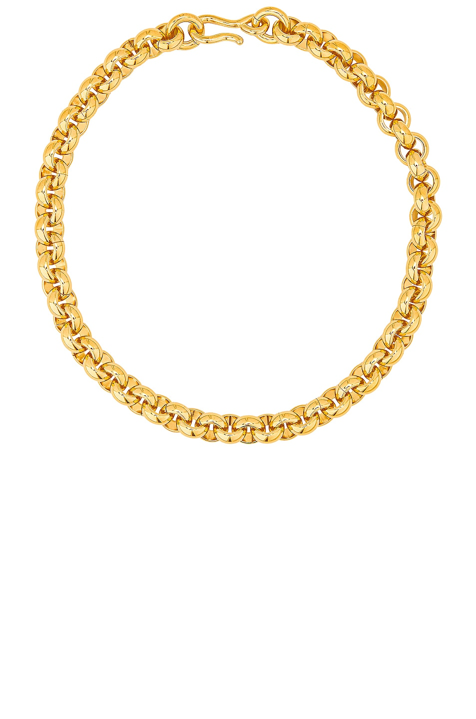 Image 1 of LAURA LOMBARDI Piera Chain Necklace in Gold