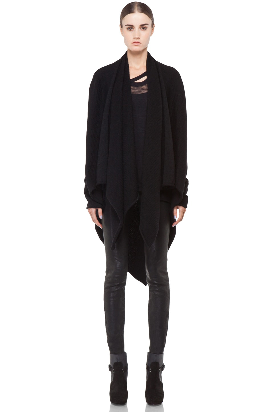 Image 1 of Lars Andersson Tail Coat Wrap in Black