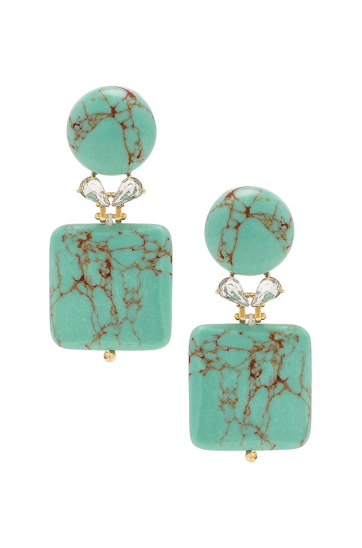 Image 1 of Lele Sadoughi Stone Starlet Earrings in Stone Starlet Earrings