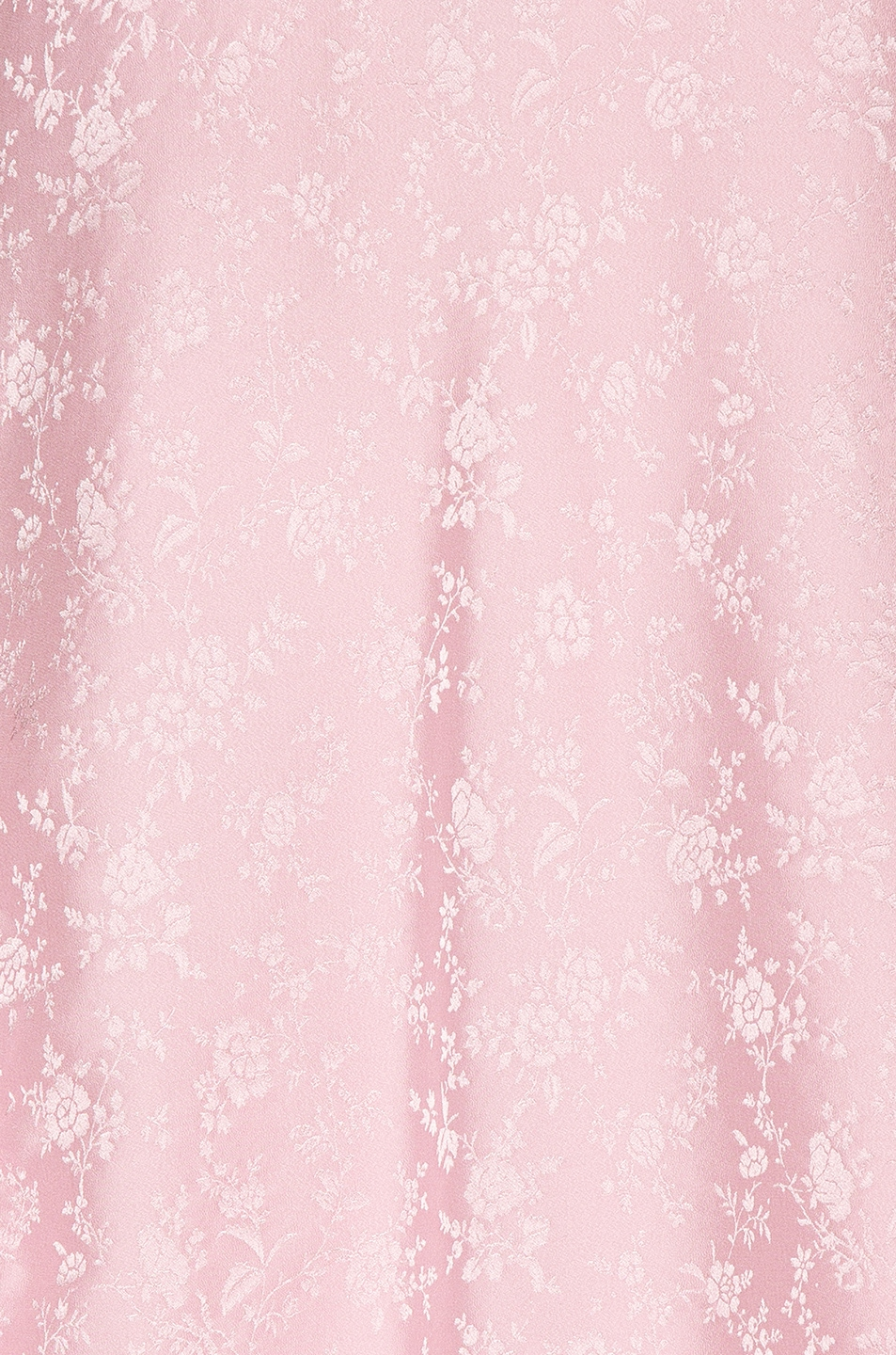 Image 5 of Les Reveries x FWRD Asymmetrical Puff Sleeve Dress in Rose Pink