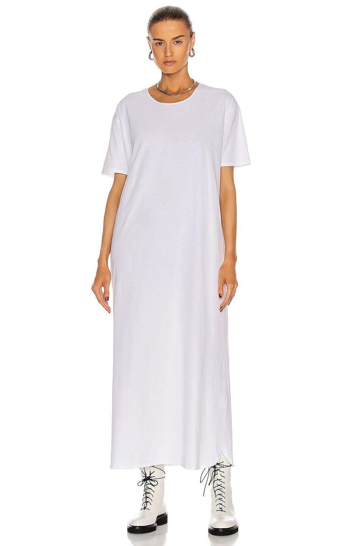 Image 2 of Loulou Studio Arue Robe Dress in White