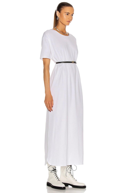 Image 3 of Loulou Studio Arue Robe Dress in White