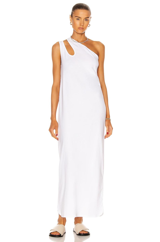 Image 1 of Loulou Studio Agitti Dress in White