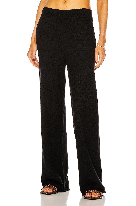 Image 1 of Loulou Studio Tioman Cashmere Pant in Black