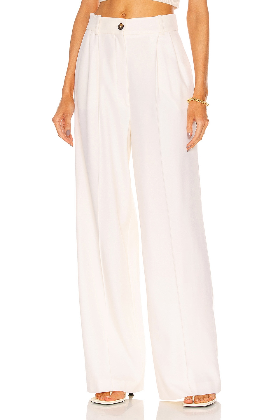 Image 1 of Loulou Studio Mouro Pant in Ivory