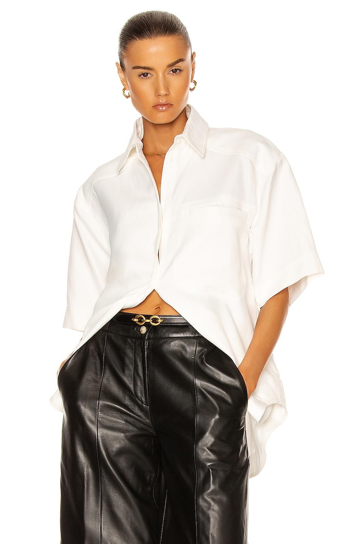 Image 1 of Loulou Studio Moheli Shirt in White