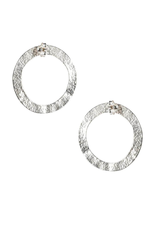 Image 3 of Lucy Folk Cairo Earrings in Sterling Silver