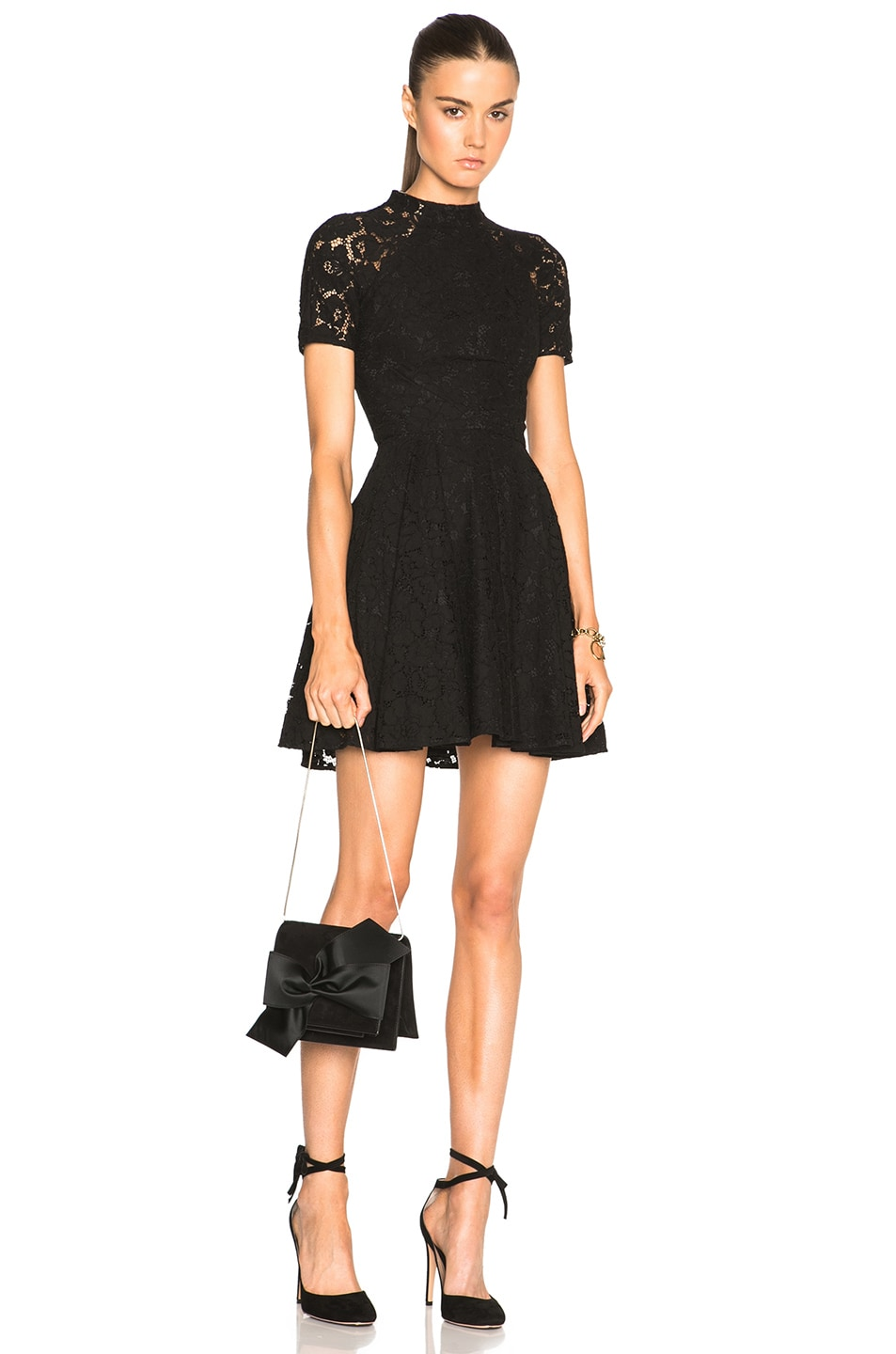 Image 1 of Lover Oasis Mini Dress in Black