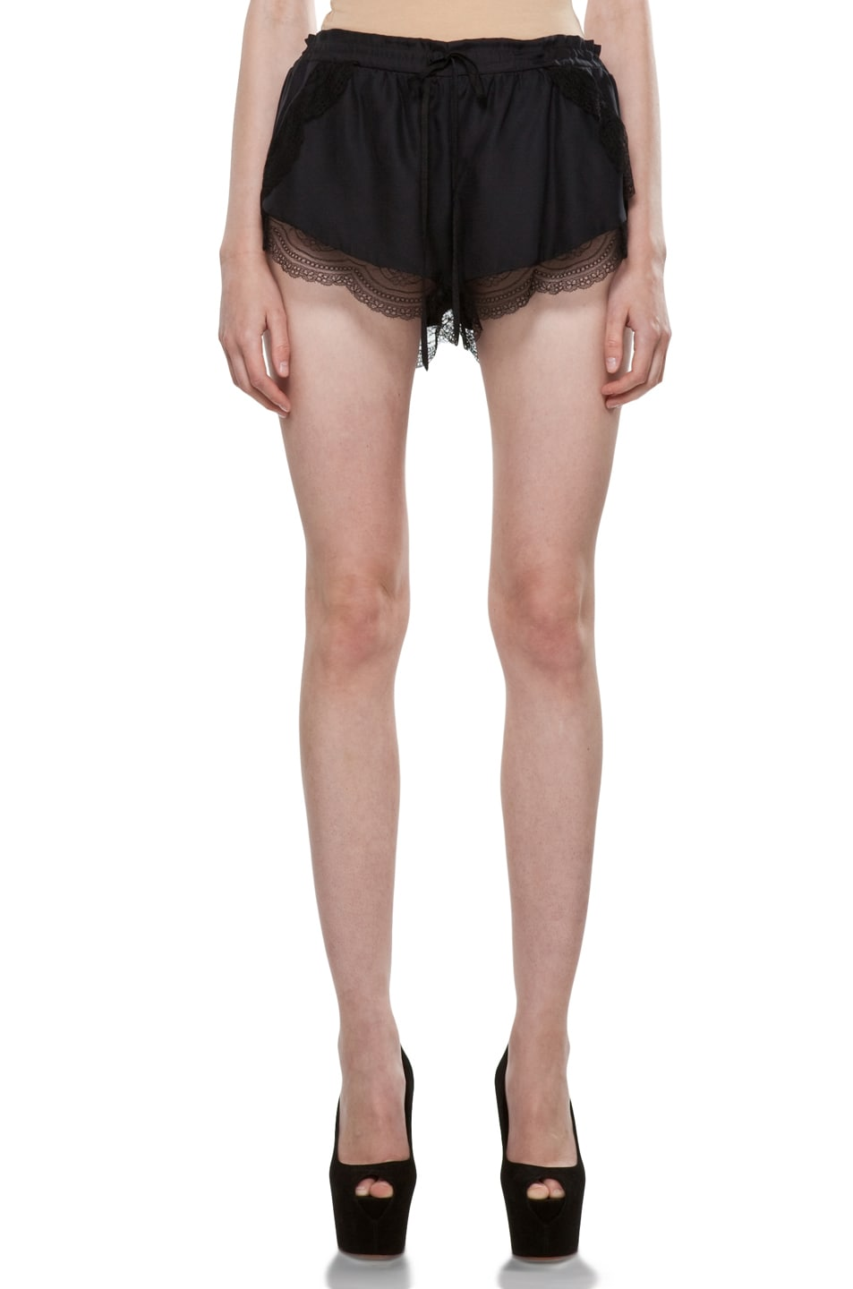Image 1 of Lover Mystical Cami Shorts in Black