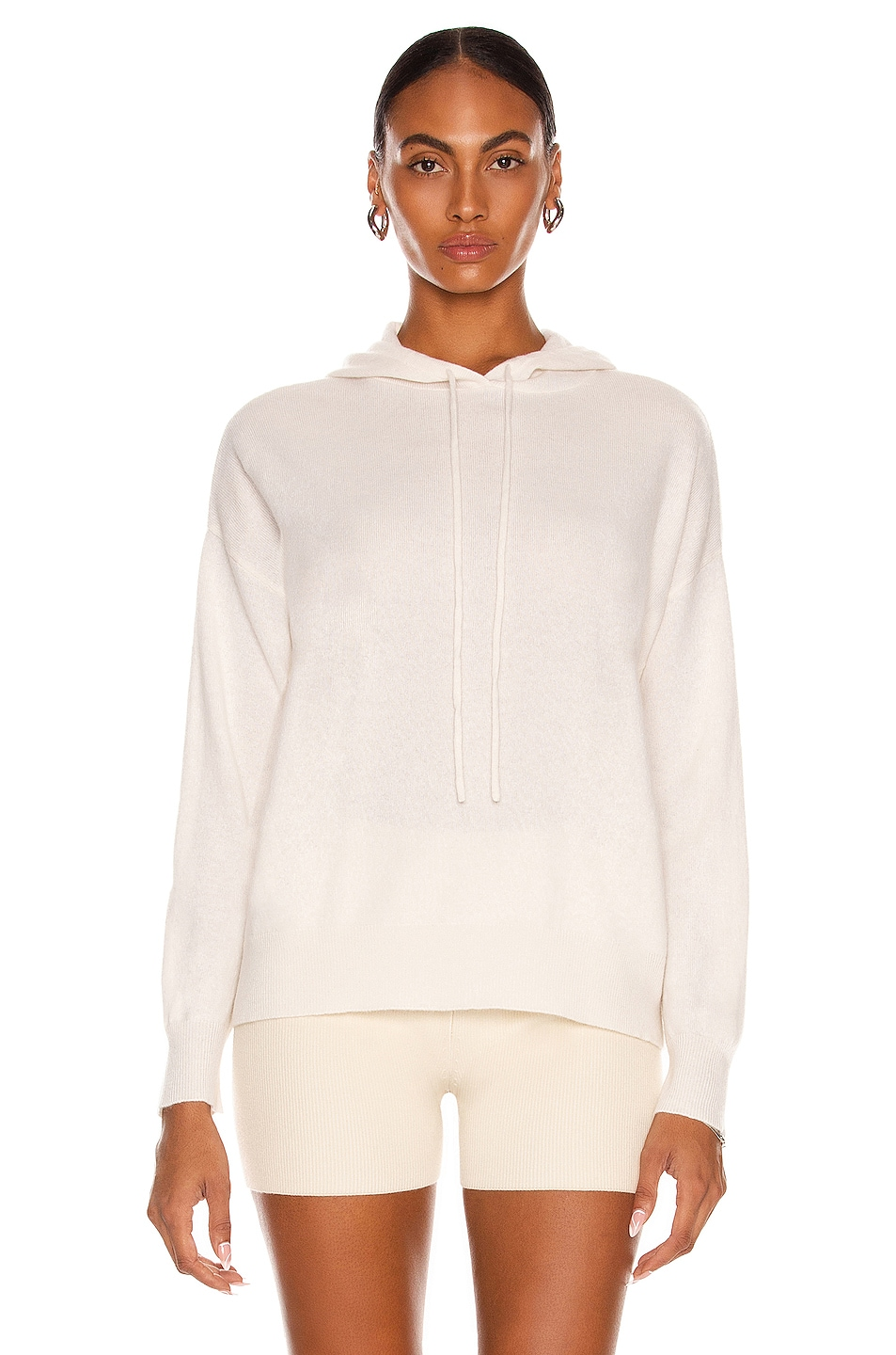 Image 1 of Lisa Yang Cashmere Luella Sweater in Cream