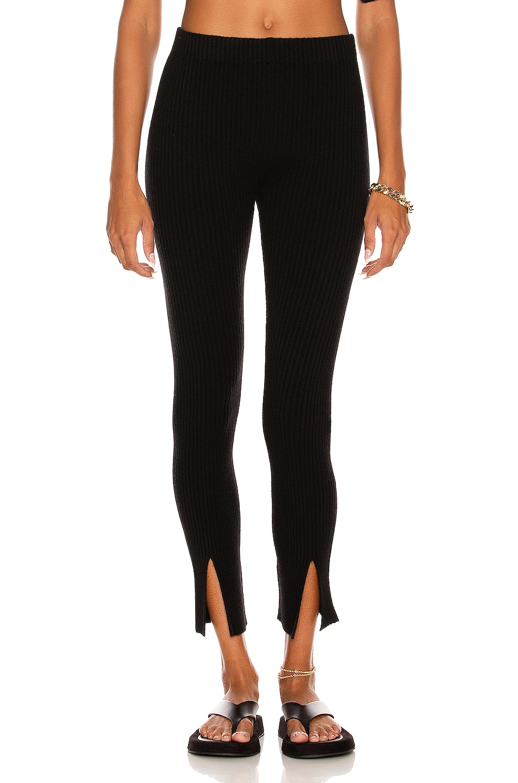 Image 1 of Lisa Yang Cashmere Sima Pant in Black