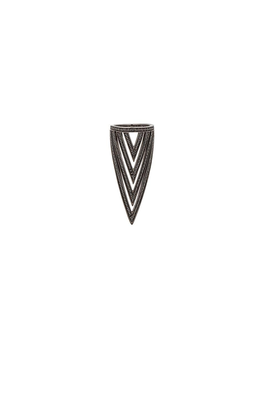 Lynn Ban Triangular Ring in Metallics 6Xl5Dvh