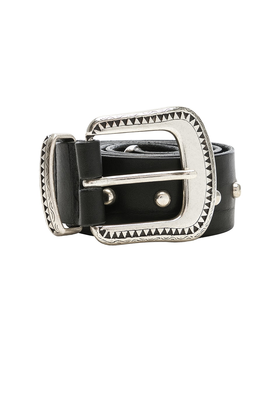 Image 3 of Magda Butrym Cod Belt in Black