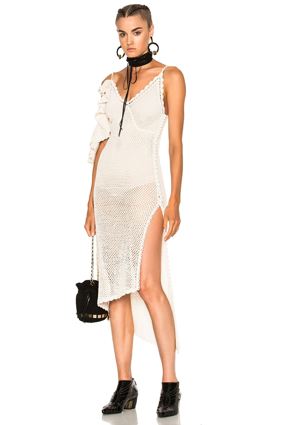 Image 1 of Magda Butrym Lanus Dress in Cream