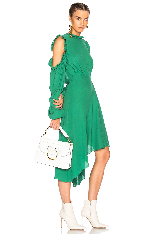Image 2 of Magda Butrym Calgiari Dress in Green