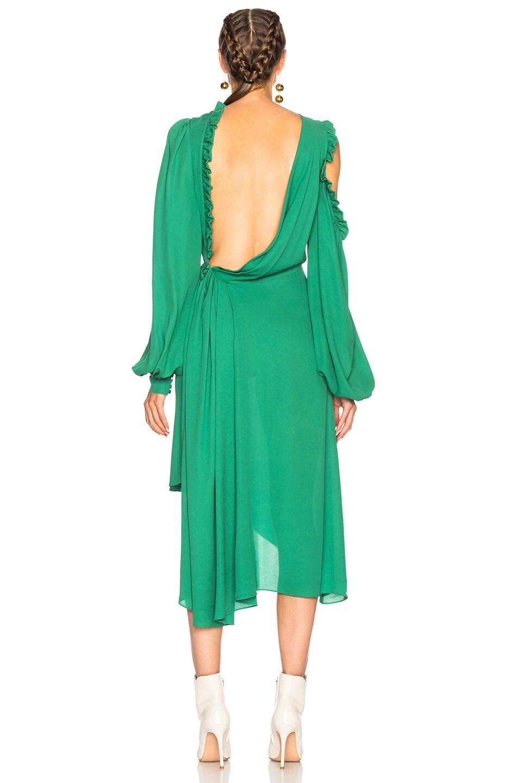 Image 4 of Magda Butrym Calgiari Dress in Green