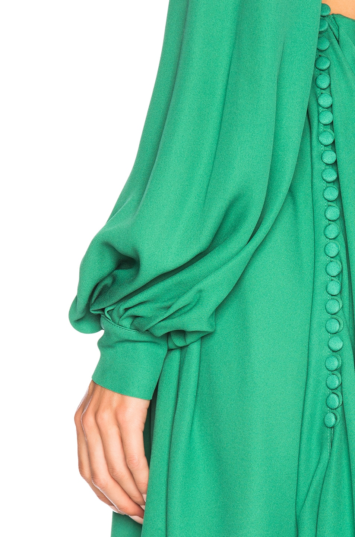 Image 5 of Magda Butrym Calgiari Dress in Green