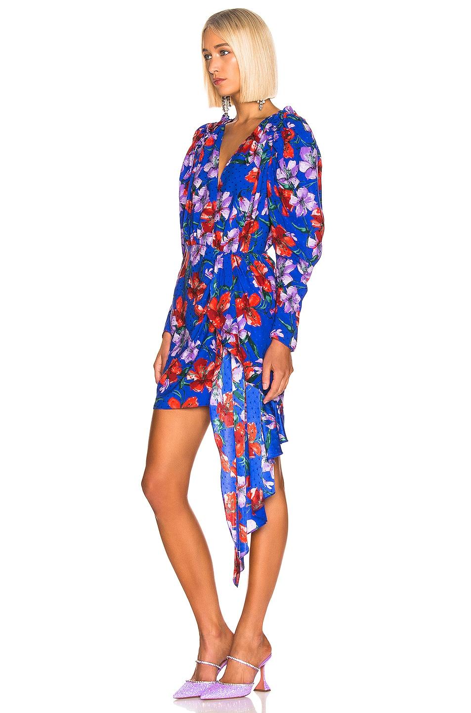 Image 3 of Magda Butrym Lagos Dress in Blue