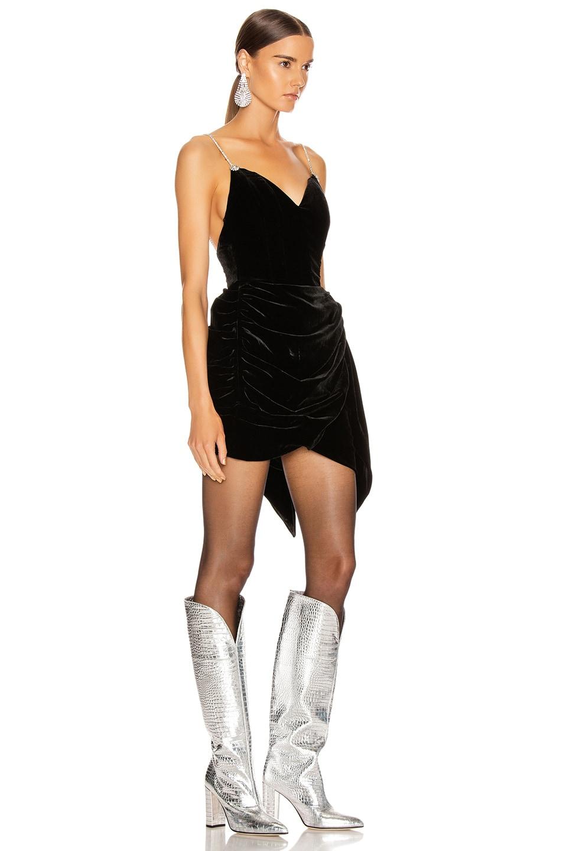 Image 2 of Magda Butrym Mana Corset Dress in Black