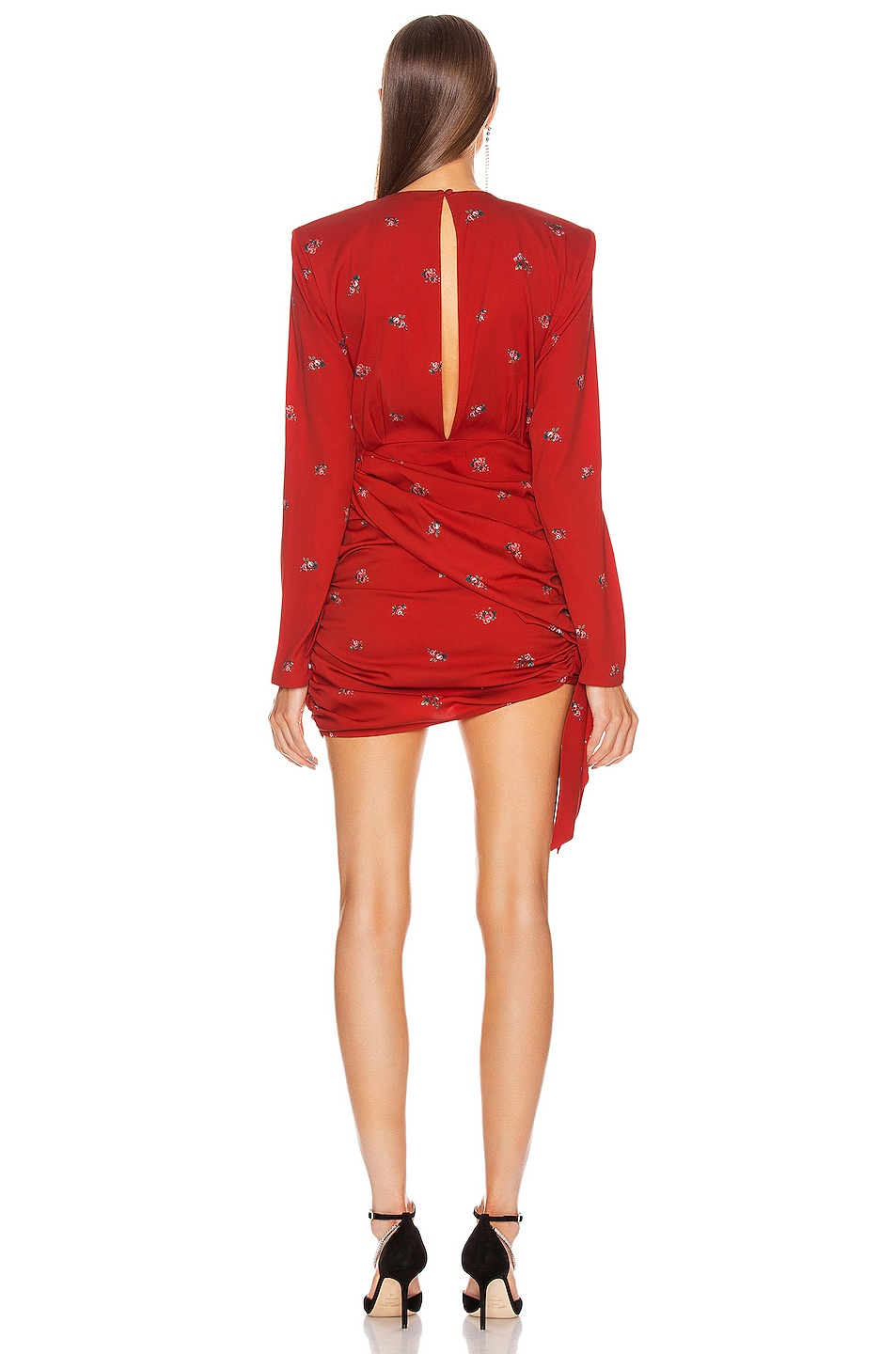 Image 4 of Magda Butrym San Remo Dress in Red