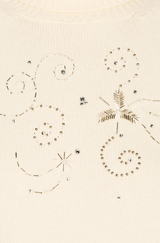 Image 6 of Magda Butrym Holley Turtleneck in Cream