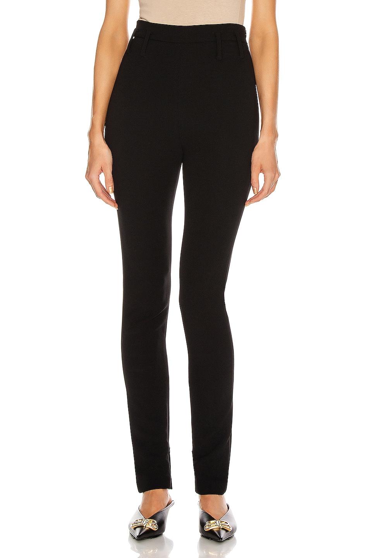 Image 1 of Magda Butrym Slim Pant in Black