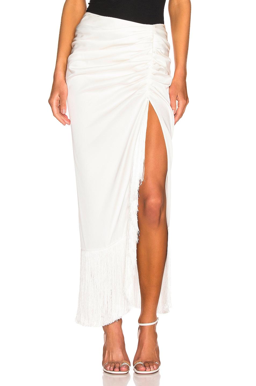 Image 1 of Magda Butrym Alba Skirt in White