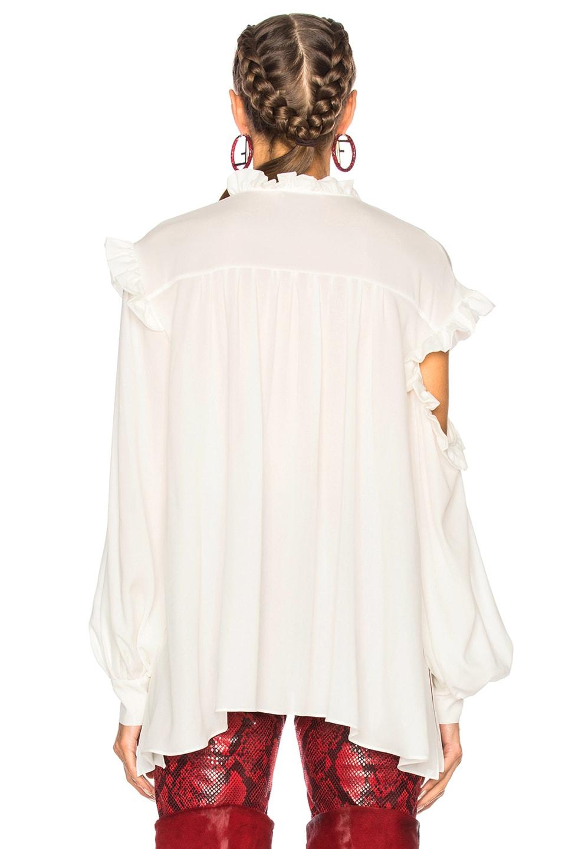 Image 4 of Magda Butrym Forli Blouse in Cream