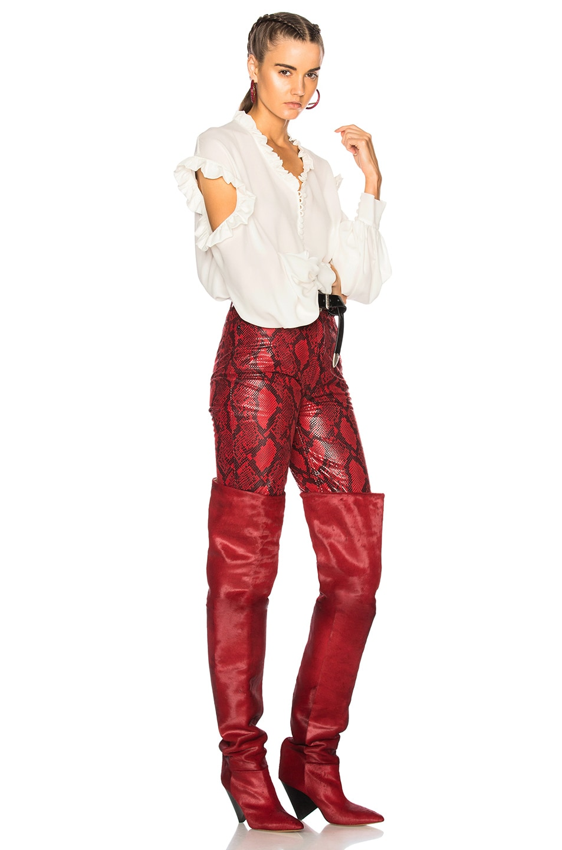 Image 5 of Magda Butrym Forli Blouse in Cream