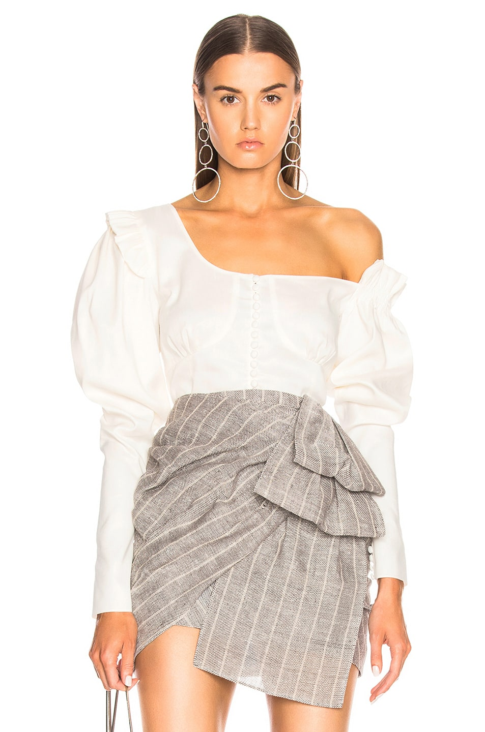 Image 1 of Magda Butrym Vannes Top in White