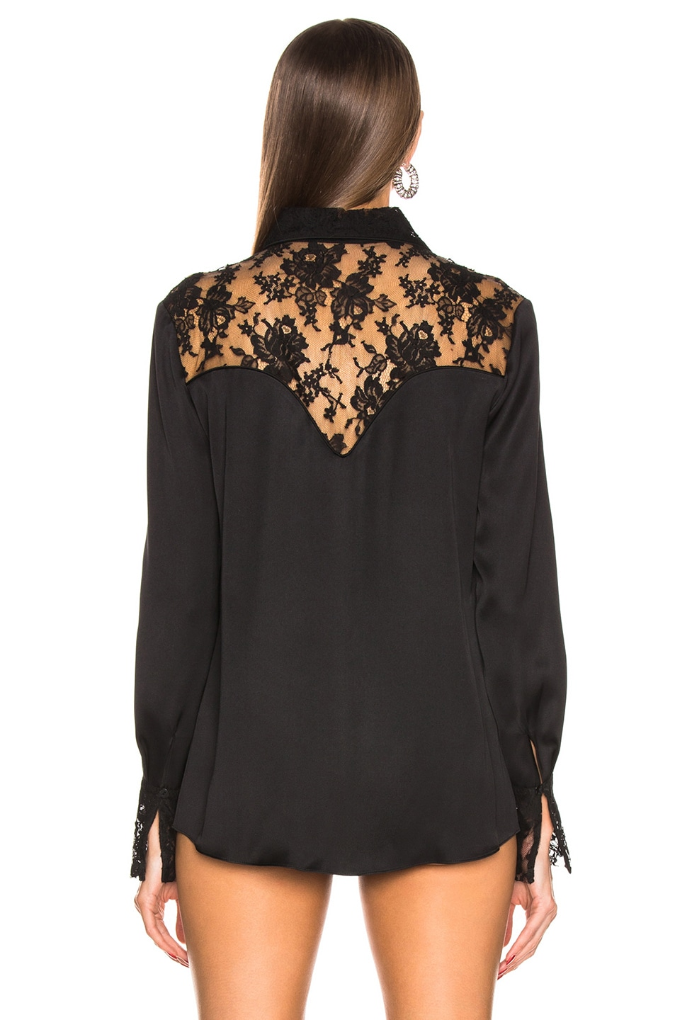 Image 3 of Magda Butrym Dalian Shirt in Black