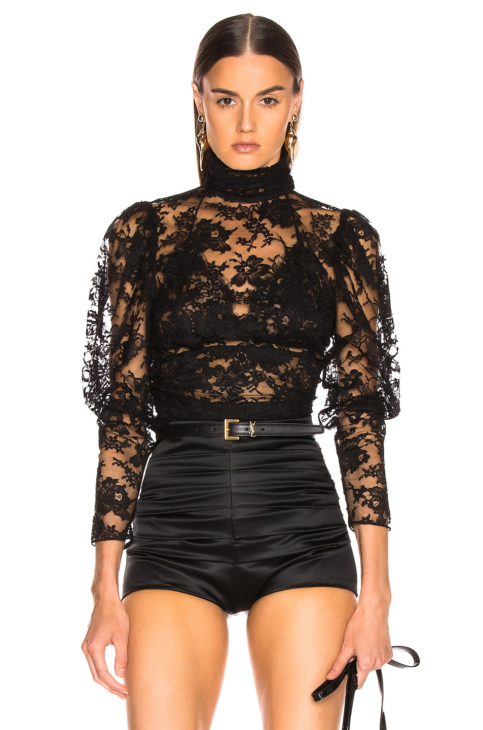 Image 1 of Magda Butrym Noto Blouse in Black