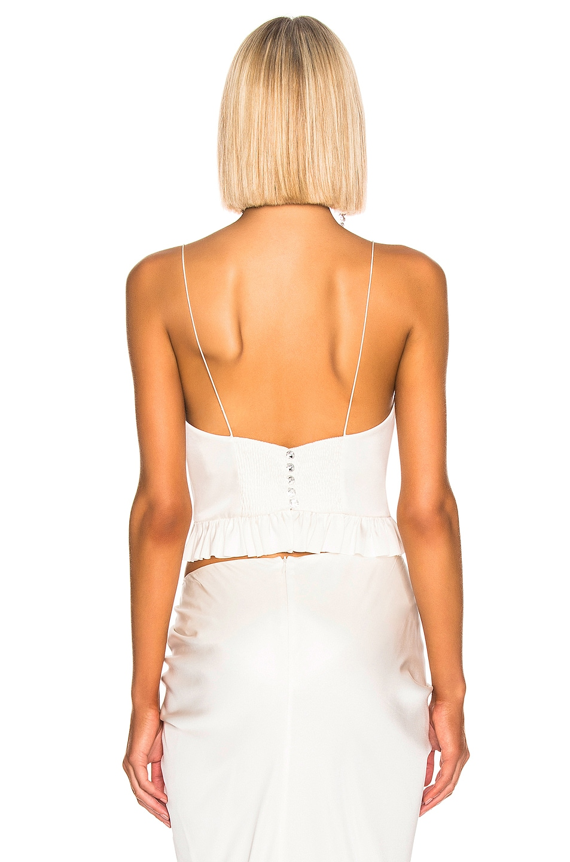 Image 3 of Magda Butrym Rija Corset Blouse in White