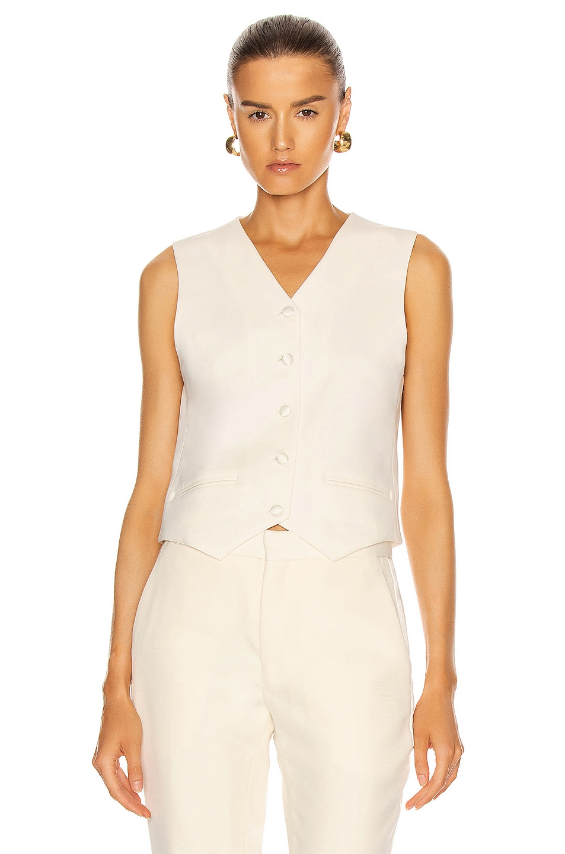 Image 1 of Magda Butrym Vest in Cream