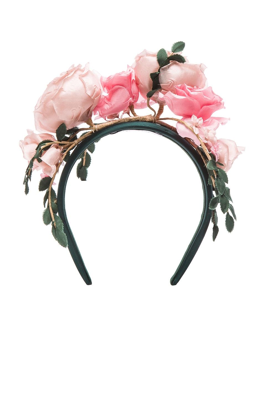 Image 1 of Maison Michel Betty Headband in Rose