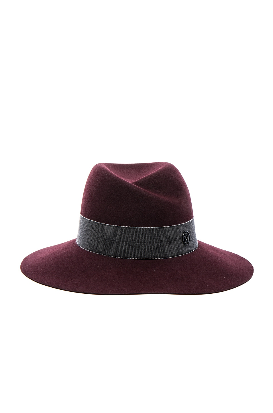 Image 1 of Maison Michel Virginie Hat in Rouge Noir