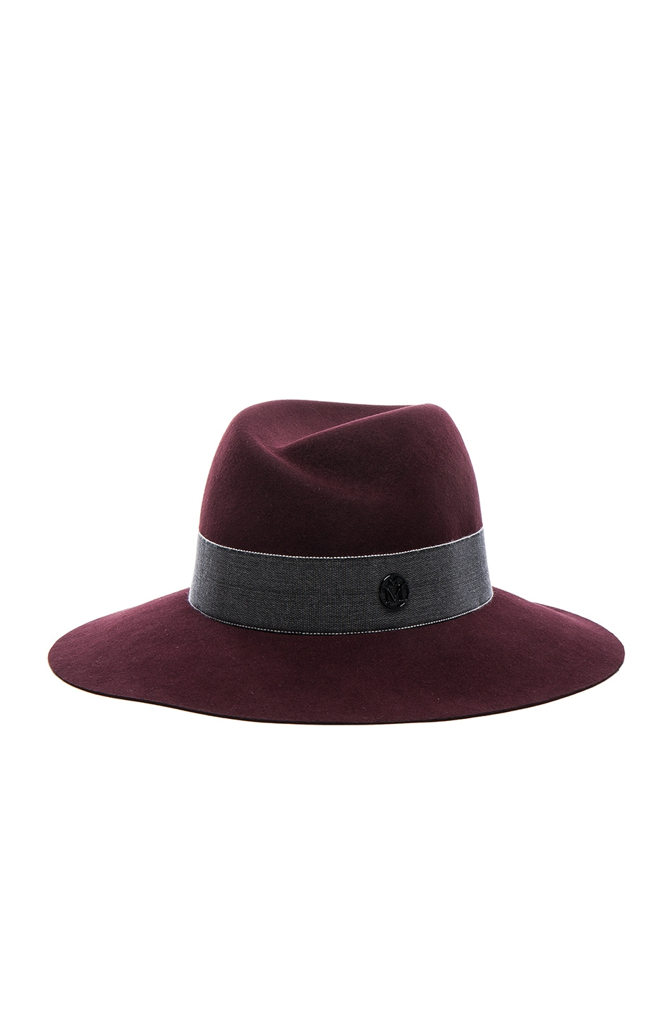 Image 3 of Maison Michel Virginie Hat in Rouge Noir