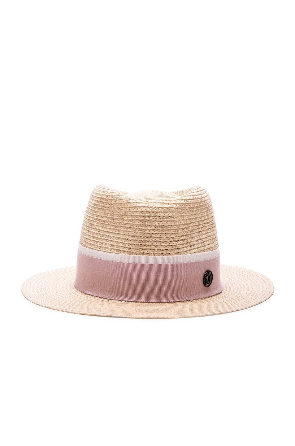 Image 1 of Maison Michel Andre Hat in Natural Rose