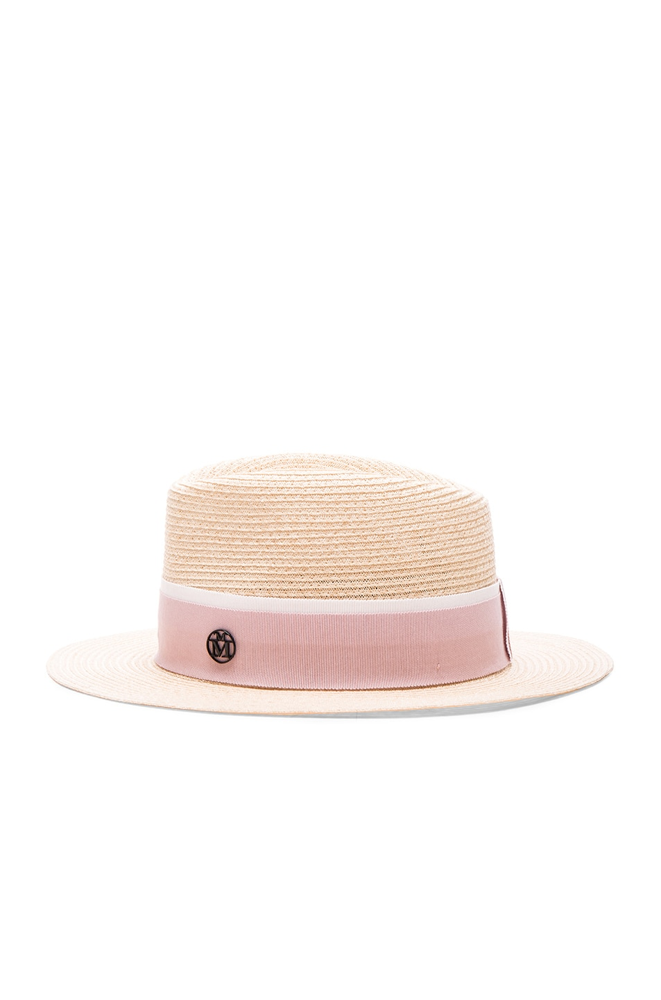 Image 4 of Maison Michel Andre Hat in Natural Rose