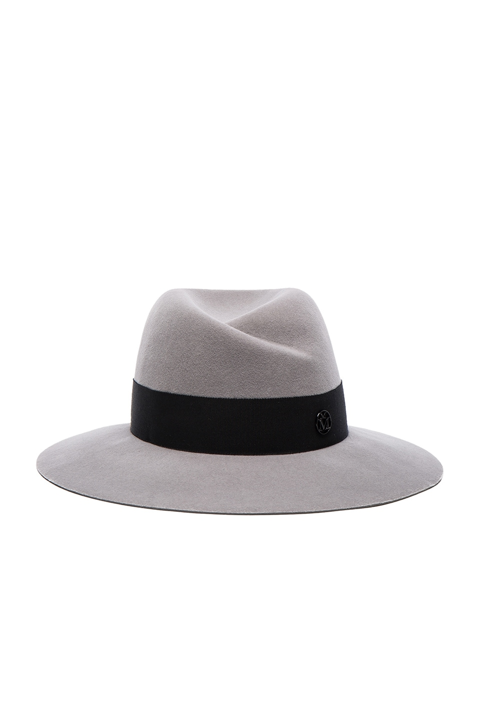 Image 1 of Maison Michel Virginie Hat in Pearl Grey