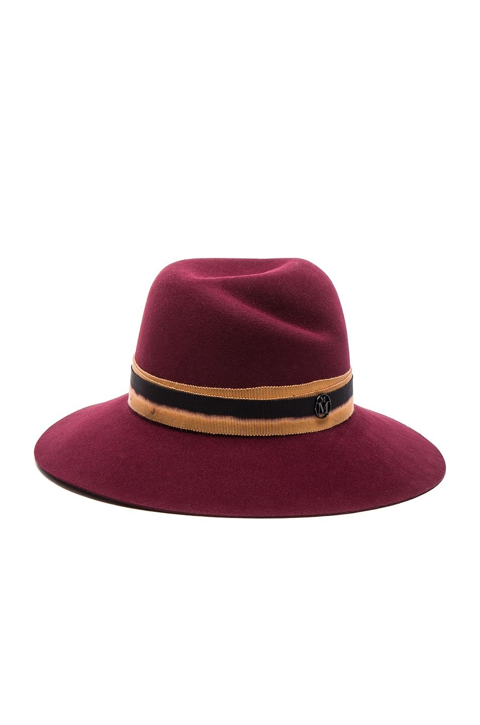 Image 1 of Maison Michel Virginie Hat in Sticky Cherry