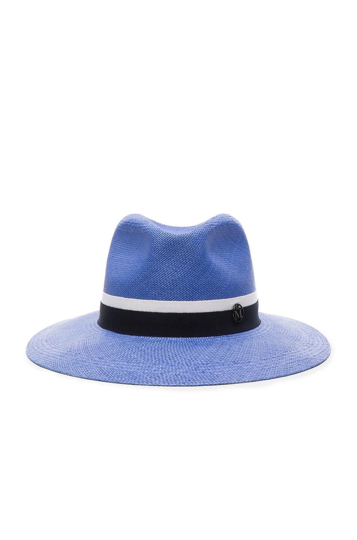 Image 1 of Maison Michel Henrietta Hat in Ghibli Blue