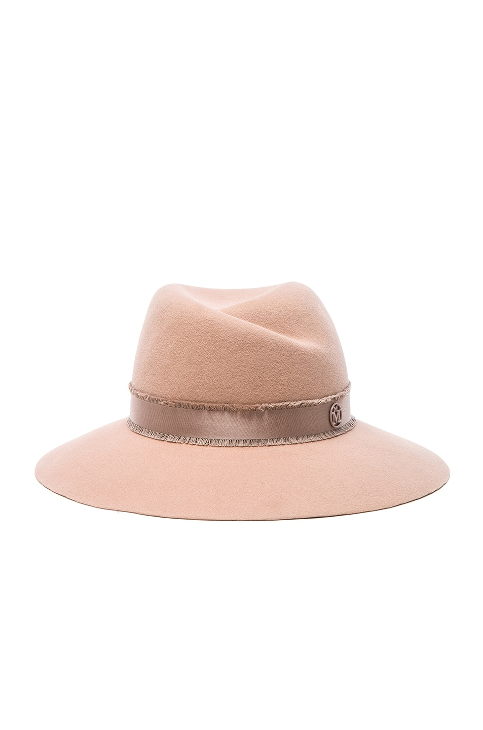 Image 1 of Maison Michel Virginie Hat in Bunker Beige